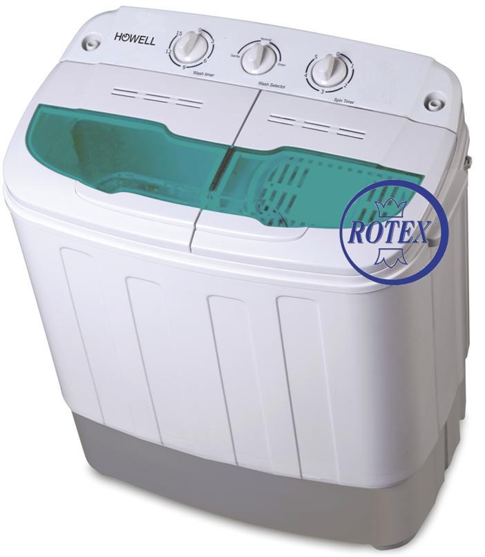 Rotex howell lp 435 c mini lavatrice 3 5 kg con centrifuga for Mini lavatrice