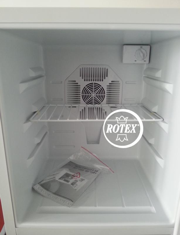 rotex dcg mf 1050 mini frigo hotel freddo frigorifero lt. Black Bedroom Furniture Sets. Home Design Ideas
