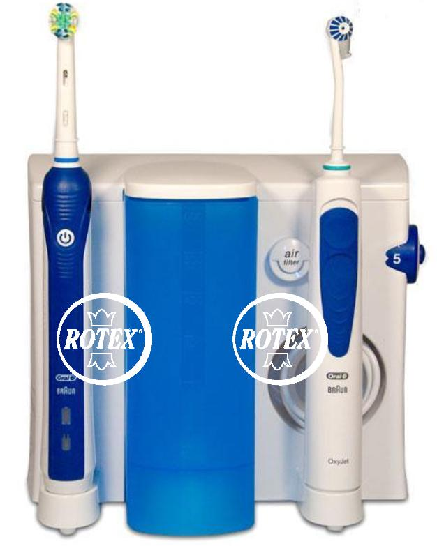rotex braun oral b oxyjet center idropulsore dentale oc. Black Bedroom Furniture Sets. Home Design Ideas