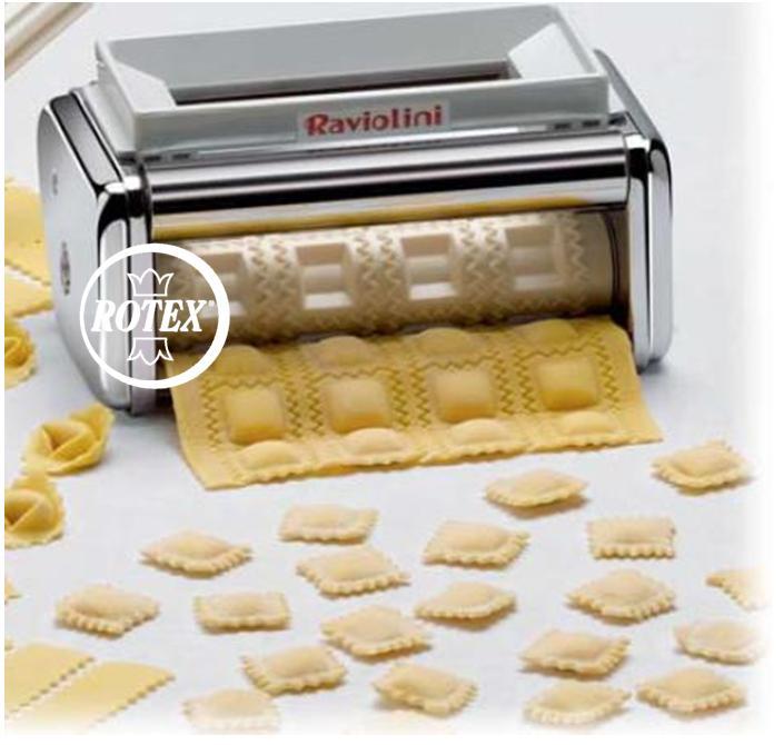 Rotex marcato accessorio raviolini macchina per pasta 4 ravioli 3 x 3 cm nuovo ebay - Macchina per fare la pasta in casa ...