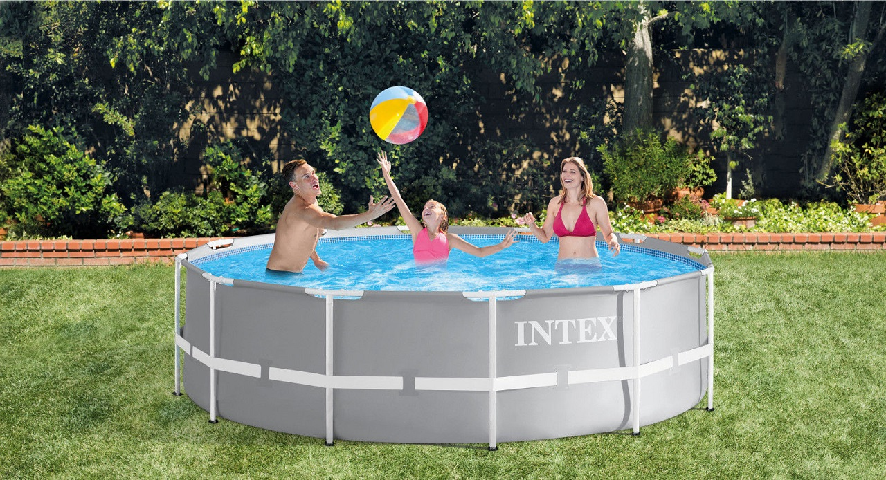 Piscine Interrate Prezzi Tutto Compreso dettagli su piscina fuori terra rotonda intex 26710 prisma frame 366 x 76  cm nuova - rotex