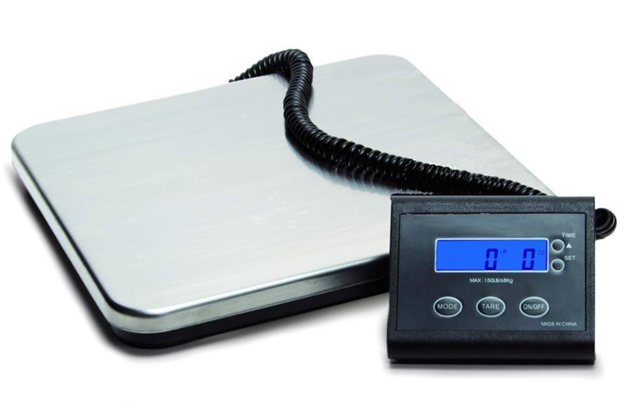 Rotex Bilancia Pesa Pacchi Digitale Eva pesapacchi Elettronica portata 150 kg