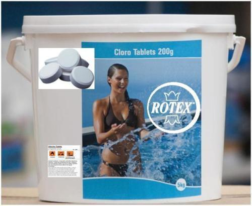 Tricloro cloro 90 piscina pastiglie gr 200 pastiglioni - Pastiglie piscina ...
