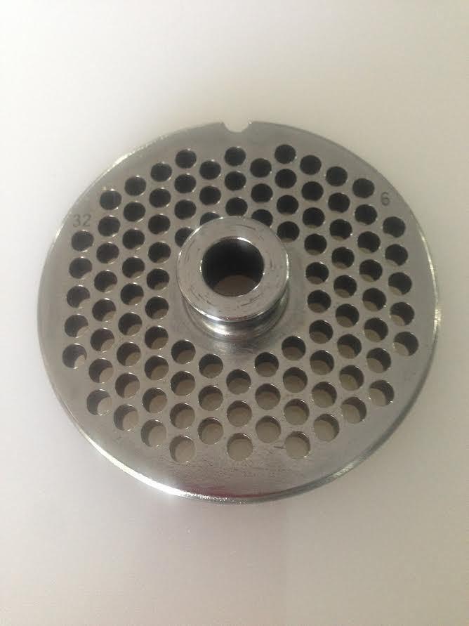 Rotex Piastra TC 32 Reber diametro 4,5 mm acciaio per tritacarne elettrico