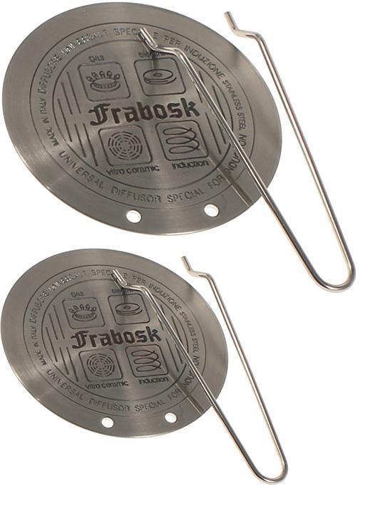 Piastre disco induzione frabosk set 2 diffusore per pentole 14 5 e 22 5 cm rotex ebay - Pentole per cucine a induzione ...